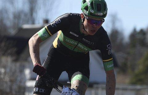 VANT: Erik Hægstad var bestemann i rundebane under Konnerudrittet lørdag.