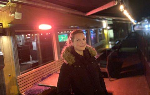 STILLE: Det var ikke et voldsomt rush på Privat da Lp møtte daglig leder Katrine Kolset fredag kveld.