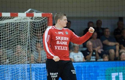 Robin Paulsen Haug har fått en god start som håndballproff i Danmark. Høsten 2019 kom han på rundens lag i dansk eliteserie tre ganger. 21-åringen fra Egge trives godt i toppklubben Skjern.