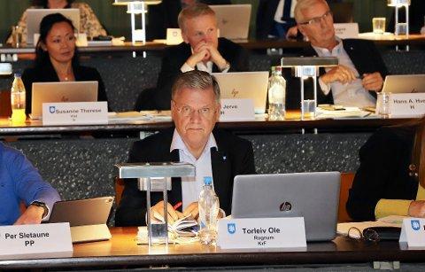 HAR KONTAKTER: KrFs Torleiv Rognum i Asker kommuner sa han hadde gode kilder på at E134 vil bli prioritert. Hans er partifelle med samferdselsminister Knut Arild Hareide.