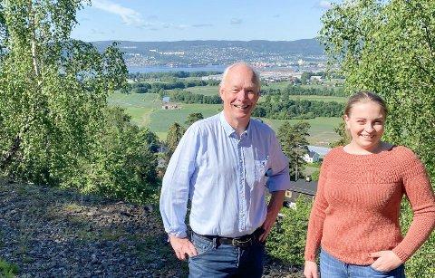 Per Olaf Lundteigen og Kaja Elisabeth Flesjø Kværner