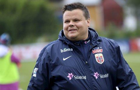 Børje Sørensen og det norske J17-landslaget klarte ikke kvalifisere seg til EM.