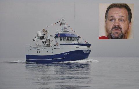 """INVESTERER: Geir Roger Benonisen har investert i blant annet 15 meter lange """"Polarstjerna""""."""