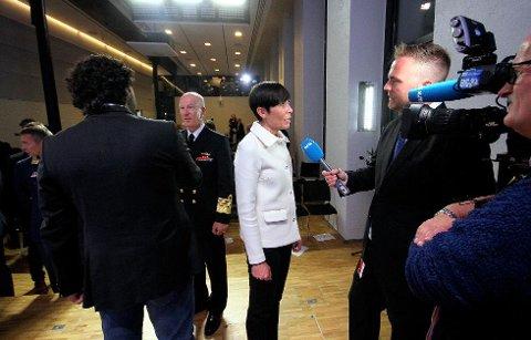 Forsvarssjef Haakon Bruun Hanssen har i dag redegjort for Forsvaret og noen av de utfordringene man står over for.