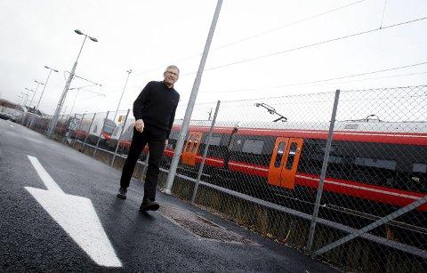 Jarle Rasmussen er Bane Nors prosjektsjef for utbyggingen Sandbukta–Moss–Såstad.