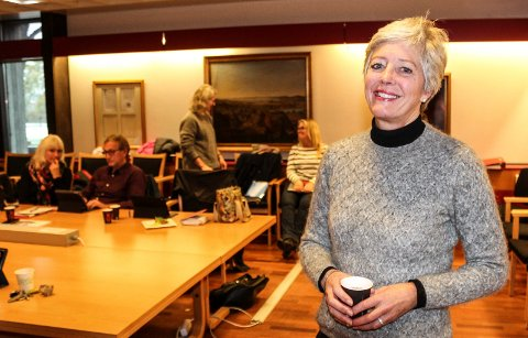 LETTET: Prosjekt- koordinator Anne-Kirsten Upsaker er glad for at formannskapet ikke vedtok avvikling av Campus Moss tirsdag.