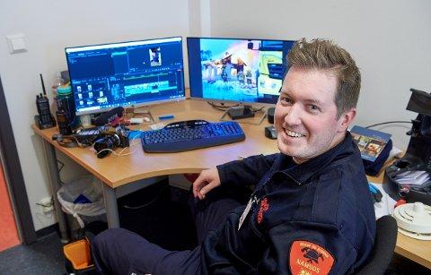 NYTTIGE TIPS: Branninspektør i Namsos brann og redning, Jens Martin Dahle Olsen, har satt sammen noen enkle og viktige tips før årets påskefeiring.
