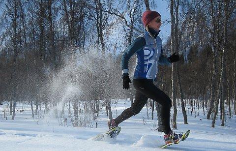 TRUGELØP: MSMs nye arrangement innebærer konkurranse med truger. FOTO: Privat