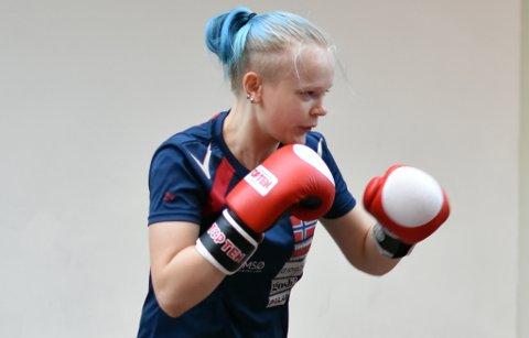 FINALEKLAR: Alexandra Divina fra Tromsø har kjempet seg helt til VM-finale i Italia.