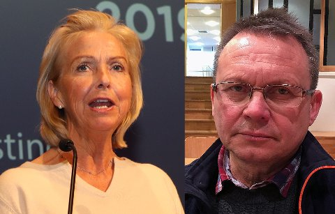 KRITISK: Berit Kjøll (t.v) ble valgt som ny idrettspresident på Idrettstinget i slutten av mai. Styreleder i Troms Idrettskrets Knut Bjørklund (t.h), er kritisk til måten Kjøll vant frem på med bruk av PR-byråer og sammenlikner det med bruk av doping i idretten.