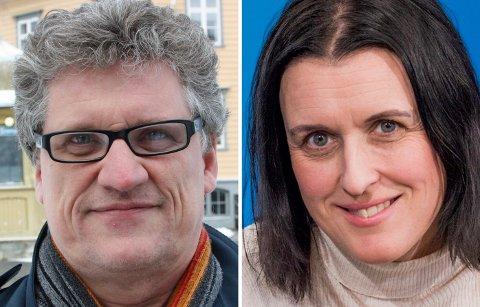 KANDIDATER: Knut Godskalk Sætre og Nina Einem er blant de fire søkerne på stillingen som regionredaktør i NRK i Nord-Norge.
