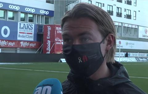 SLET: Bodø/Glimt vant 3-0, men kaptein Patrick Berg var ikke fornøyd med måten TIL fikk overta kampen etter Bodø-lagets to tidlige scoringer.