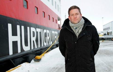 Daniel Skjeldam oppført som både daglig leder og styreleder i to nye selskaper under navnet Coastal Holding og Costal 1 AS . Hurtigruten vil ikke si hvorfor de har etablert selskapene.