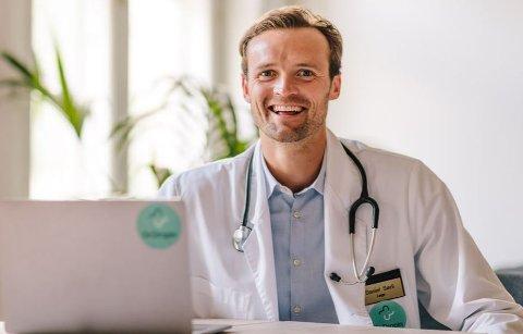 DROPIN: Daniel Sørli. Daglig leder Dr.Dropin