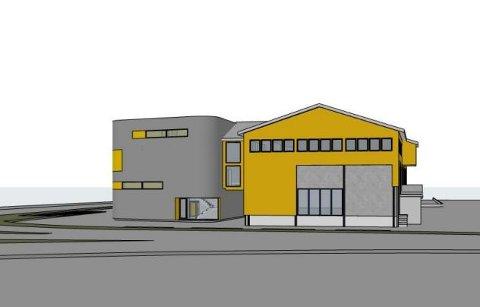 BYGGER UT: Slik vil de nye eierne bygge ut AEO-bygget.