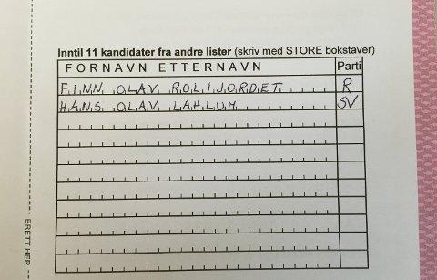 """Finn Olav Rolijordet (Rødt) har i flere valg vært Gjøviks mest populære """"slenger"""". Kanskje får han selskap av SVs profilerte Hans OlavLahlum i år? Illustrasjonsfoto"""