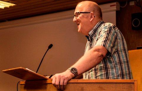 Jon Odden (Ap), leder av komité for lokalsamfunn i Søndre Land.