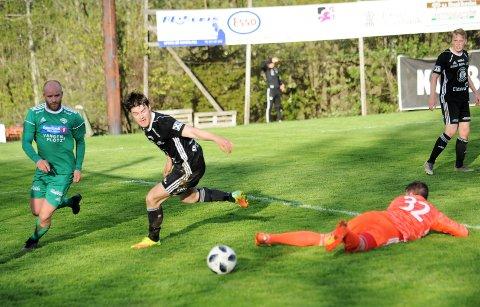 Petter Tallerud Bakkelund gleder seg til lørdagens lokalderby mot Reinsvoll på KK-plassen.