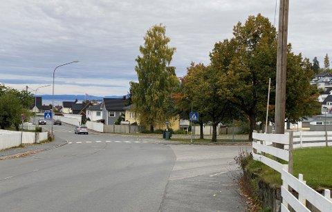 FEIL VEI: Den eldre bilisten kjørte i feil kjøreretning i minst 1,6 kilometer før hun ble stoppet av politiet ved Hovdetjernet.