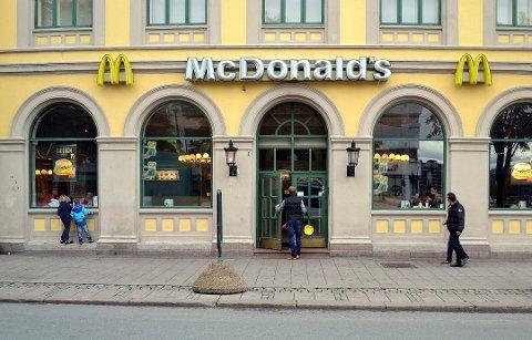 SÅ RØDT: Kvinnen var 17 år da hun truet McDonalds-ansatte med juling og knivstikk.