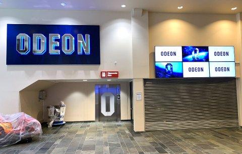 ÅPNER SNART: Nå er det ikke lenge før kinopublikummet igjen kan innta kinosalene i Ski.