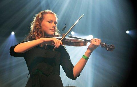 SPILLER: Tidligere prisvinner Rebecca Nøstrud Isaksen har selv mottatt kulturpris tidligere og spiller under årets utdeling. m