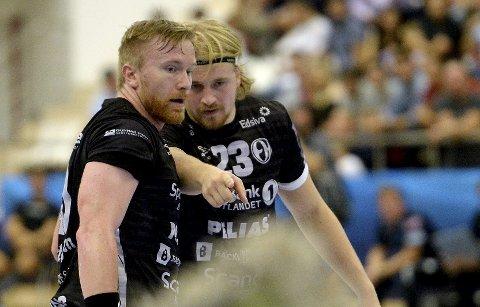 TETT SAMARBEID: Endre Langaas (t.v.) og Magnus Fredriksen begynner virkelig å få samarbeidet til å sitte.