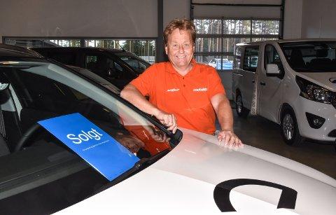 OPEL-SJEFEN: Per Olav Stenbrenden er salgsansvarlig for Opel hos Mobile Elverum.