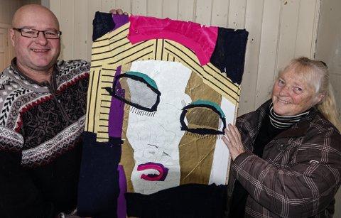 KAN SES: Dette bildet er ett av mange verk man kan se i den digitale utstillingen til Våler kunstnerforum. Okke Bloem og Turid Evang er sentrale i arbeidet med utstillingen.