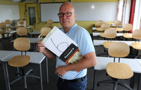 GODE RESULTAT: – Vi mener eksamen forteller mest om tilstanden, sier rektor ved Åsnes u-skole, Remi Eriksmoen.