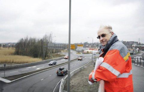 FÅR MANGE TILBAKEMELDINGER: Steinar Aspen i Statens vegvesen er prosjektleder for fastlandsforbindelsen. – Det er ikke alltid så enkelt å gjøre alle til lags, forklarer han.