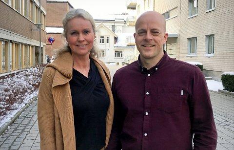 VIRKSOMHETSLEDERE: Mari Lunde (53) og Tor Gjermund Midtbø (37) har skiftet beite og gått inn i rollen som ny virksomhetsleder for hver sin skole.