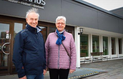 FIKK TILLIT: Jan-Erik Tveten og Astrid Furuheim ble valgt til henholdsvis leder og nestleder for eldrerådet i Rakkestad.