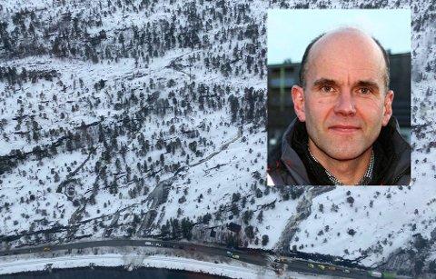 Tore Lysberg er avdelingsdirektør for drift og vedlikehold i Nord-Norge i Statens Vegvesen.