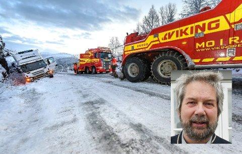 Utbedring av Bustneslia er en sak som Lurøy kommune ønsker å prioritere i Regional transportplan. Ordfører Håkon Lund (innfelt) sier at det er stor enighet om dette da det har stor betydning for næringslivet i Lurøy.