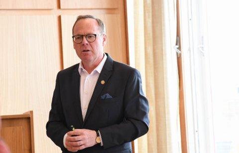 Får kritikk: Rådmann Jørn Strand har høstet kritikk etter møtet med Arthur Buchardt sist uke.