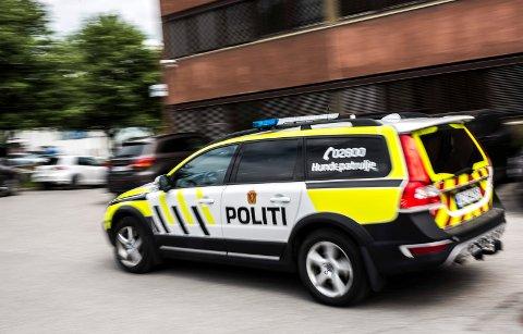 GIKK TIL ANGREP: To menn og en kvinne skal ha blitt angrepet i Hønefoss sentrum.