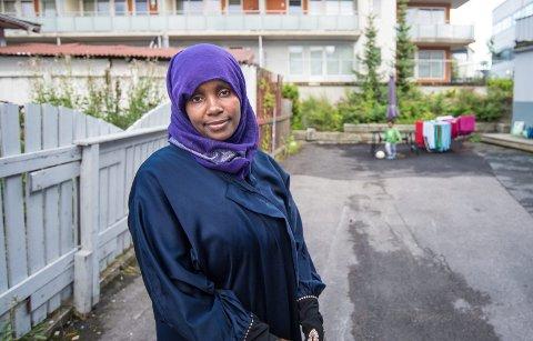 SENDT HJEM:  I forrige uke fikk Shamira Mahameds 10 år gamle sønn beskjed om at han ikke lenger fikk være med på treninger og kamper.8 8Foto: Vidar Sandnes