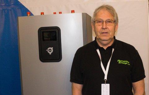 POPULÆRT: Johnny Nyengen i Romerike Energi har opplevd en stor etterspørsel etter varmepumper.