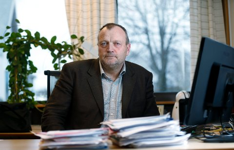 OPPRYDDING: Noe av det første Malvin Bjorøy gjorde som ny byggesaksleder i Asker kommune, var å nøste opp alle uløste byggesaker.