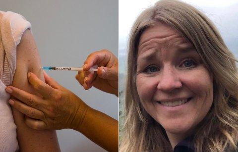 Assisterende leder for vaksinasjonsklinikken i Asker kommune, Hege Ophus forklarer at det er en del ledige timer i tiden fremover