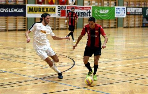 JEVNT: Mak Dizdar og Sandefjord Futsal ga finske Kampuksen Dynamo kamp til døra torsdag kveld.