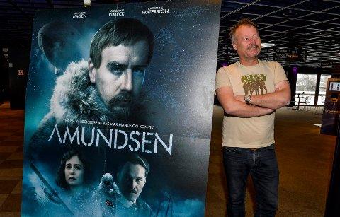 STORFILM: Kinosjef Bjørn Helge Jahnsen ønsker velkommen til festpremiere på filmen «Amundsen», lørdag 15. februar i Hjertnes kulturhus.