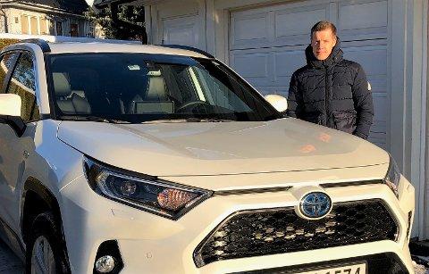 MEST SOLGT: Thomas Olafsen liker ikke å stå i ladekø. Derfor ble nybilvalget en plug in hybrid.