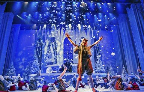 Julesuksess: Villekulla barne- og ungdomsteater har satt opp en ekstraforestilling av «Reisen til julestjernen», etter veldig bra billettsalg.foto: Trine Sirnes