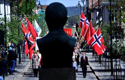 1 MAI: Det skjer en rekke arrangement i Sarpsborg under arbeidernes internasjonale kampdag 1. mai.