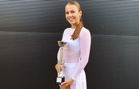 GOD: Hedda Elise Berthelsen vant klassen  slow mester over 16 år.