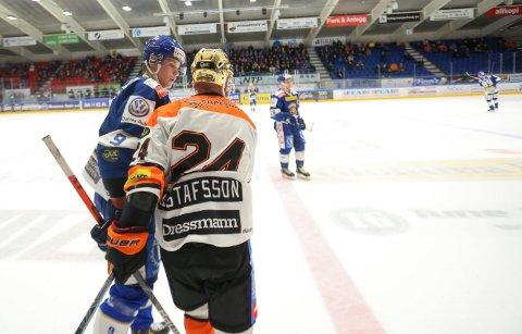 GOD: Unggutten Emil Martinsen Lilleberg leverte en god kamp mot Frisk Asker.