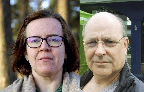 Henriette Gausdal Pedersen og Arnstein Koch-Engebretsen.