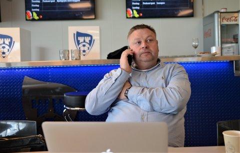 Tøffe tider: Over 3 millioner kroner har uteblitt så langt fra samarbeidspartnere til Sarpsborg 08 og det hadde vært sårt trengte kroner mener styreleder Hans Petter Arnesen.